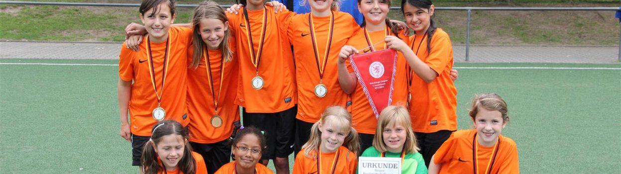 Auch die U 10 gewinnt das Regionalpokalfinale