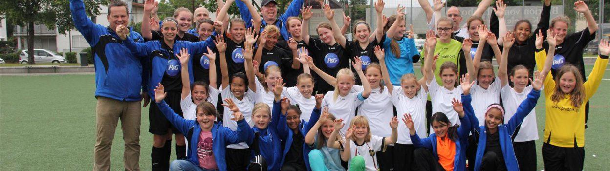Herzlichen Glückwunsch den Regionalpokalgewinnerinnen