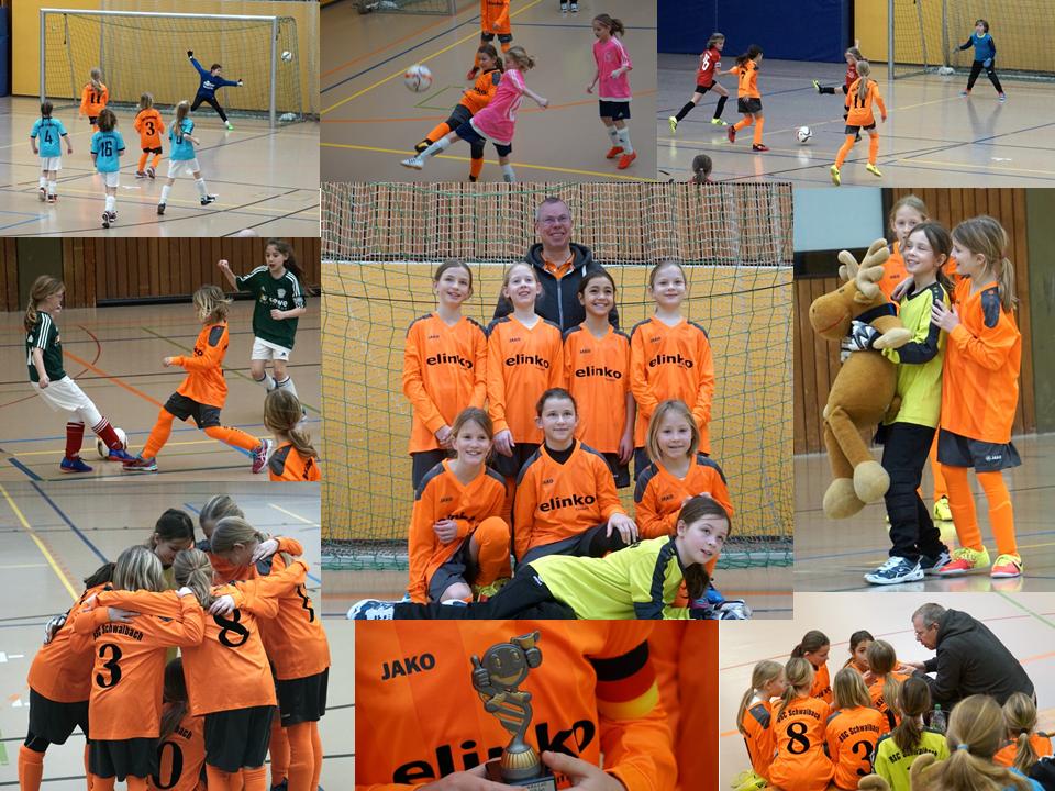 U11-Juniorinnen beim 4. Hallencup der MSG Altendiez (20.01.18)