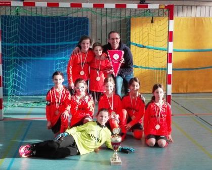 U11 wird Futsal Hallenmeister der Region Frankfurt