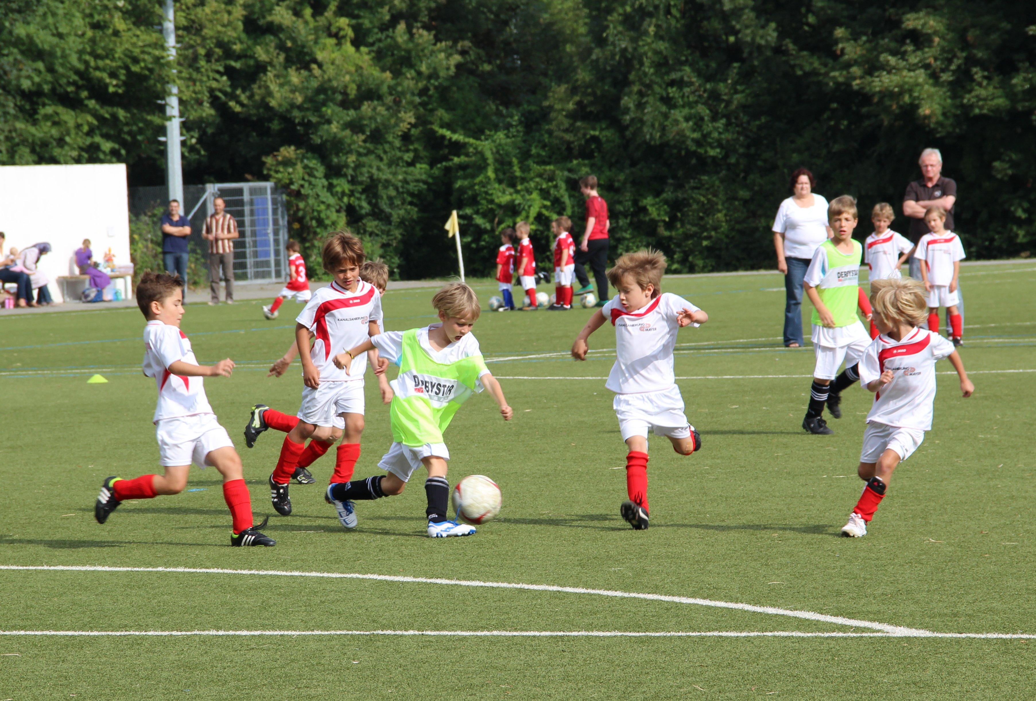 24.08.2013 F-Junioren: Erstes Heimspiel mit neuer Mannschaft