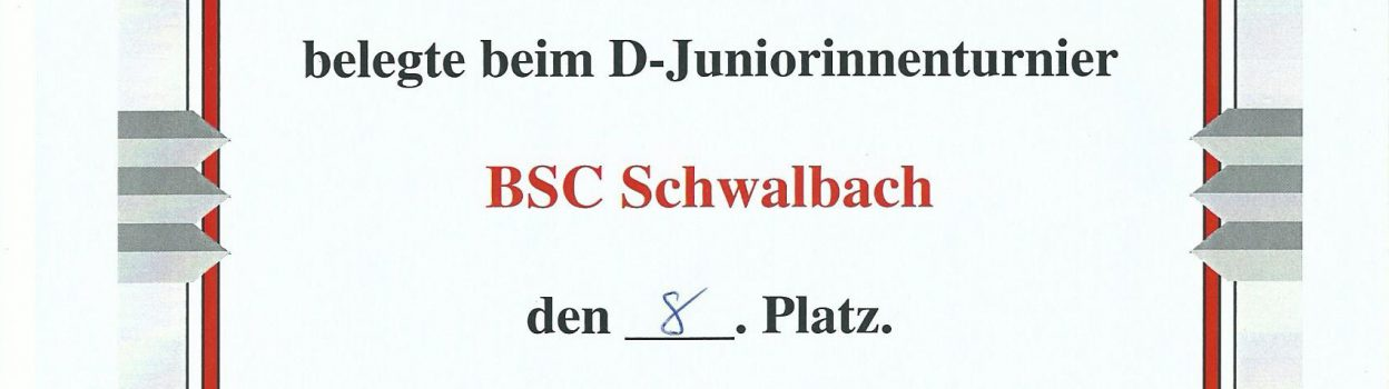 U12 Pfingstturnier in Aschaffenburg