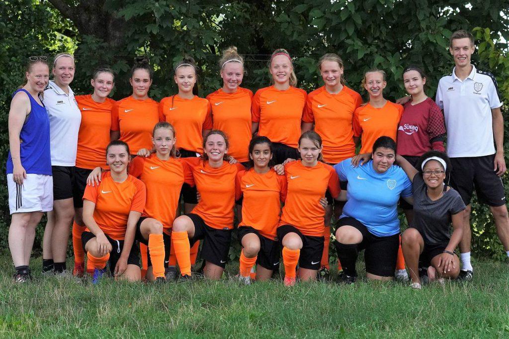 U17 B-Juniorinnen des BSC Schwalbach