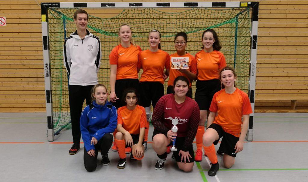 u15 beim Burkhard-Mück-Cup 2019